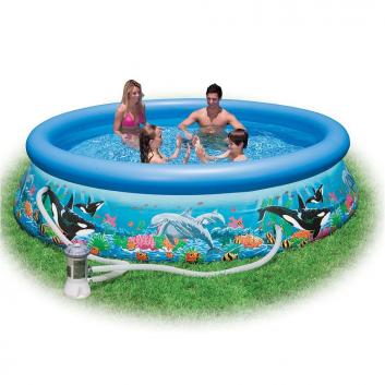 Бассейн надувной Easy Set Pool Риф океана