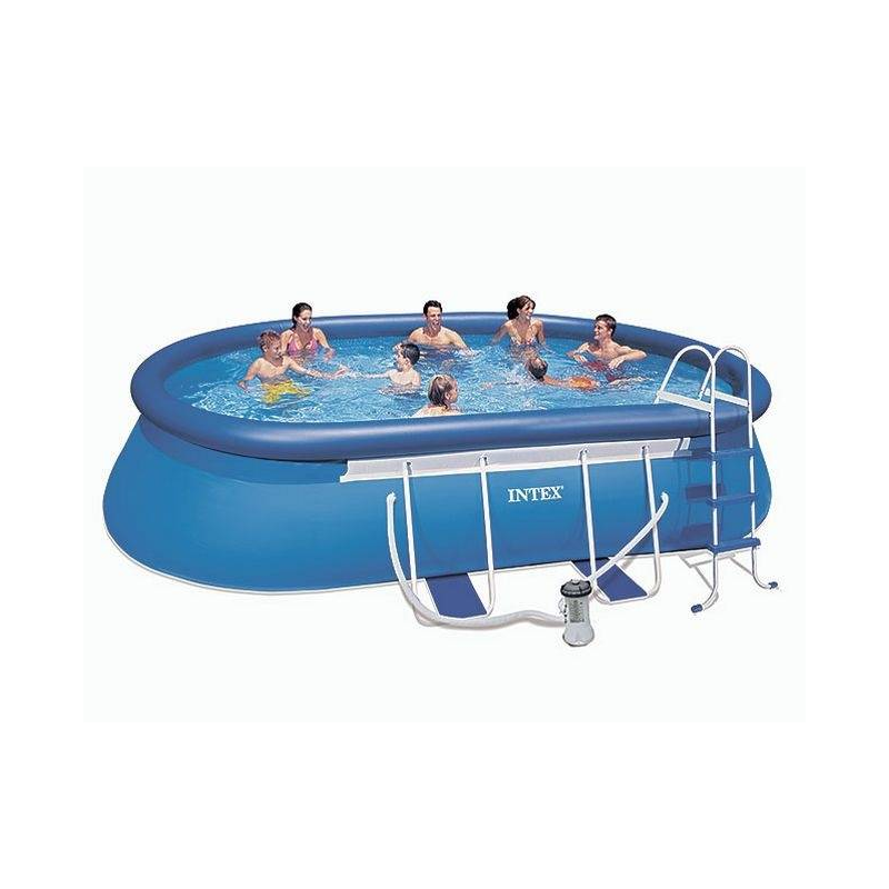 Intex Бассейн каркасный Oval Frame Pool