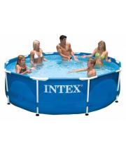 Бассейн каркасный Metal Frame Pool Intex
