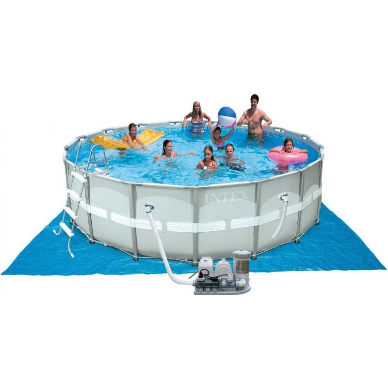 Intex Бассейн каркасный Ultra-Frame Pool