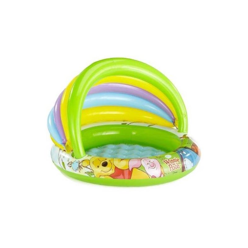 Intex Надувной бассейн с тентом Винни Пух