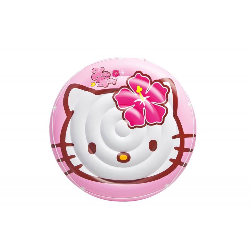 Intex Надувной островок Hello Kitty игрушка для плавания intex плот остров hello kitty 56513