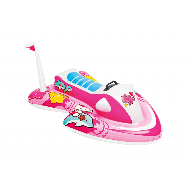 Intex Надувной плот Hello Kitty игрушка для плавания intex плот остров hello kitty 56513