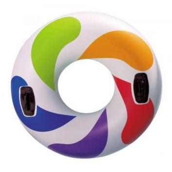 Надувной круг для плавания Вихрь цвета 122 см