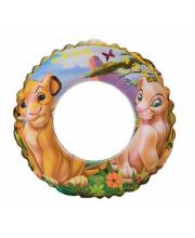 Надувной круг для плавания Король Лев 61 см