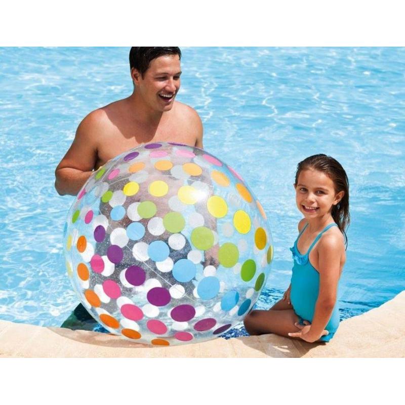 Intex Надувной мяч Гигант 107 см надувной матрас camping mats 127х193х24см intex