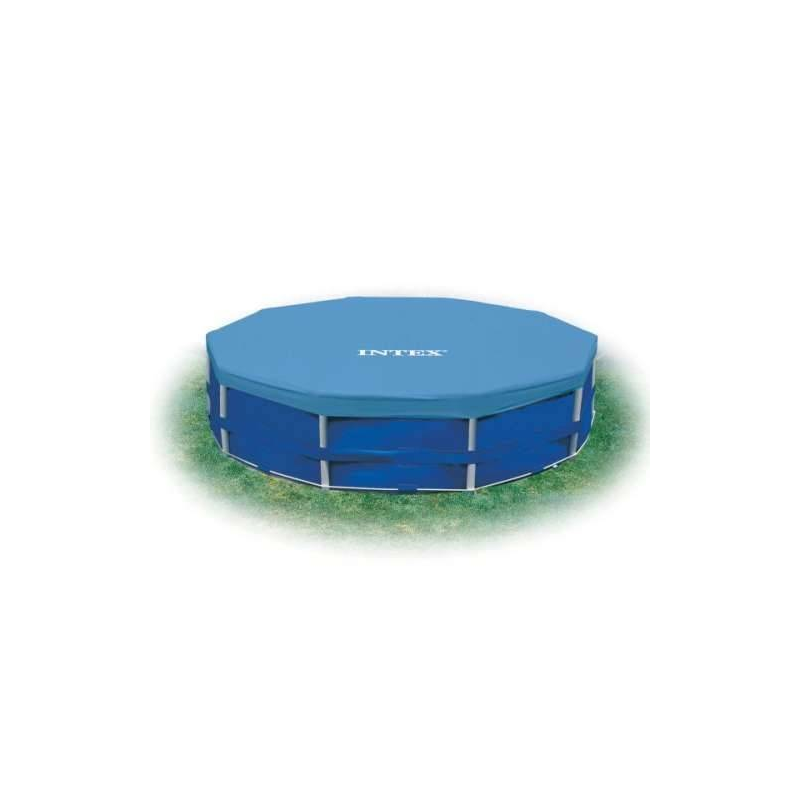 Intex Тент для каркасныйх бассейнов 366 см intex тент для каркасных бассейнов easy 28031 диаметр 366 см