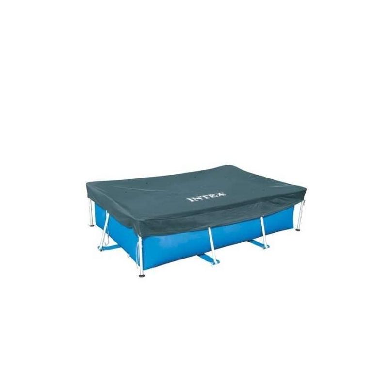 Тент для прямоугольного каркасного бассейна 300х200 см