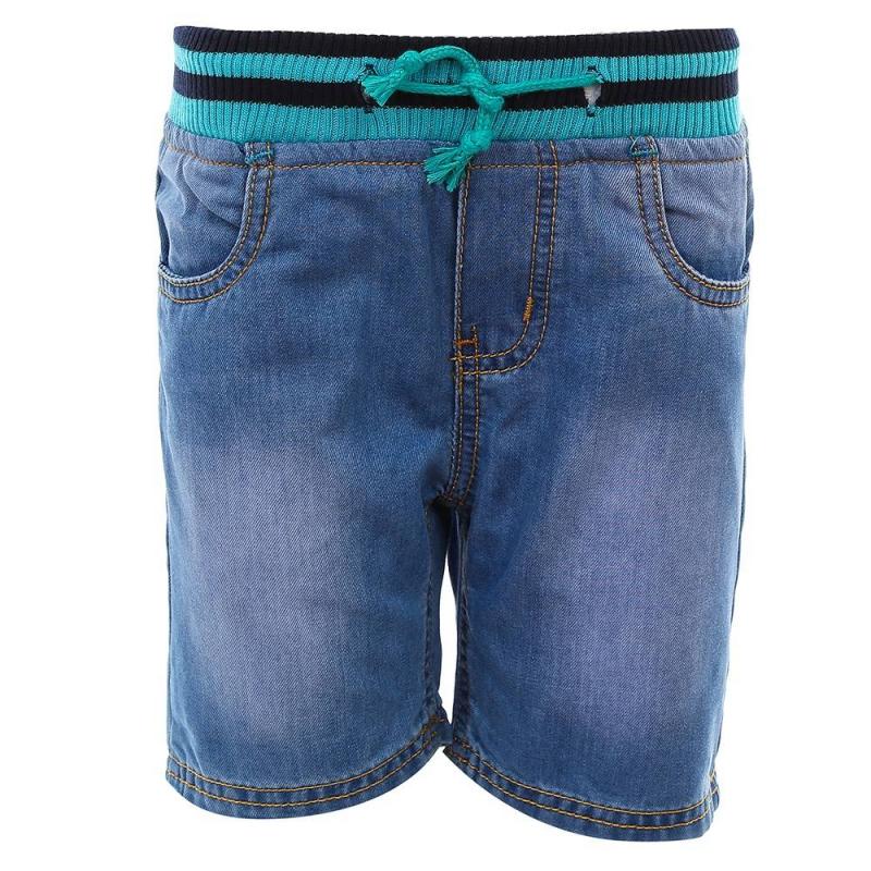 ШортыШорты голубого цвета из коллекции First Match марки Sweet Berry для мальчиков.<br>Стильные джинсовые шорты, выполненные из чистого хлопка, декорированы эффектом потертости. Модель дополнена контрастной эластичной резинкой на поясе и удобными карманами.<br><br>Размер: 2 года<br>Цвет: Голубой<br>Рост: 92<br>Пол: Для мальчика<br>Артикул: 686959<br>Страна производитель: Китай<br>Сезон: Весна/Лето<br>Состав: 100% Хлопок<br>Бренд: Италия