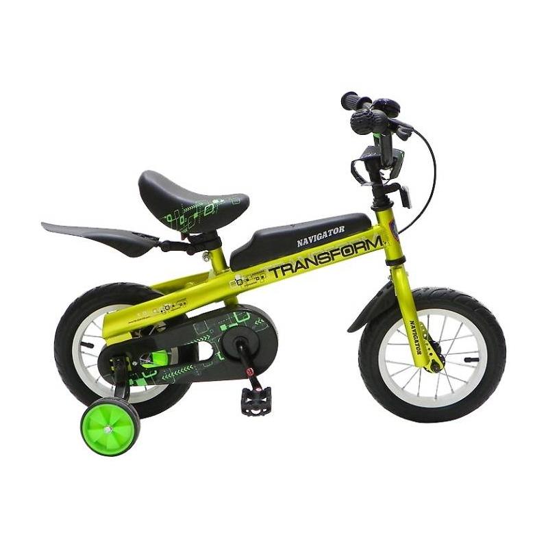 Navigator Велосипед-беговел 2в1 Transform велосипед двухколесный navigator superman 16