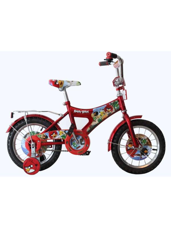 Велосипед двухколесный Angry Birds Navigator (красный)
