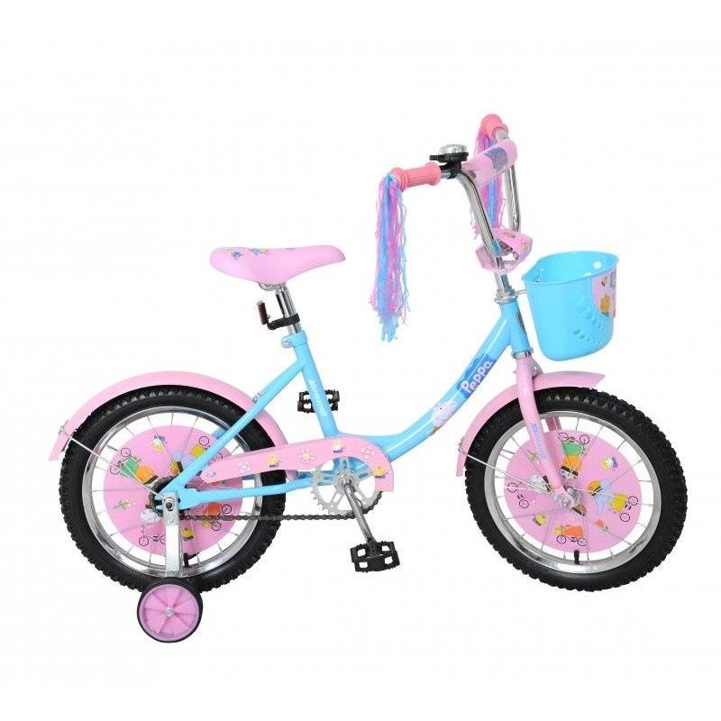 Navigator Велосипед двухколесный Peppa Pig ребенку 8 лет с каким размером колес велосипед