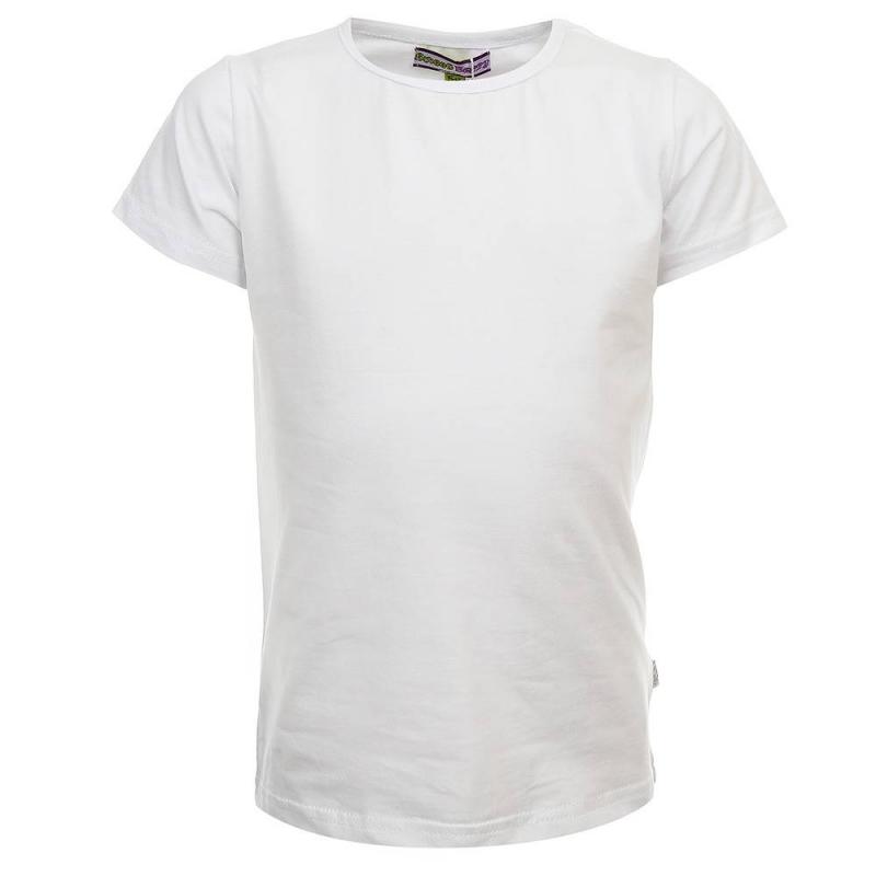 ФутболкаФутболкабелогоцвета из коллекции School collection марки Sweet Berry для девочек.<br>Однотонная базовая футболка с коротким рукавом выполнена из хлопка с добавлением эластана.<br><br>Размер: 5 лет<br>Цвет: Белый<br>Рост: 110<br>Пол: Для девочки<br>Артикул: 687039<br>Бренд: Италия<br>Страна производитель: Китай<br>Сезон: Весна/Лето<br>Состав: 95% Хлопок, 5% Эластан