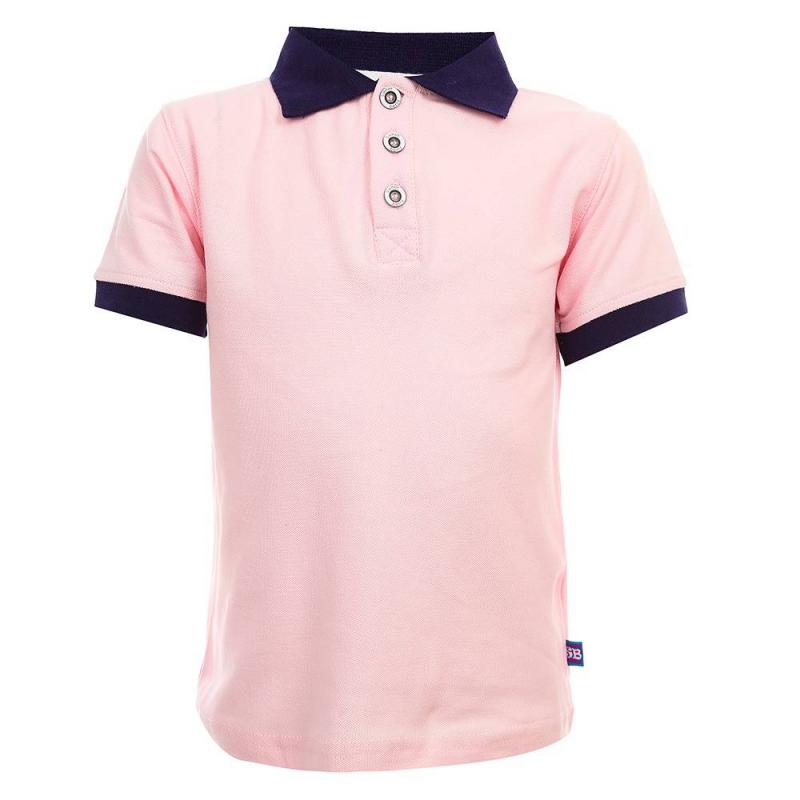 Рубашка-полоРубашка-полорозовогоцвета из коллекции Funny Animals марки Sweet Berry для мальчиков.<br>Стильная рубашка-полос коротким рукавом, выполненная из хлопка с добавлением эластана, декорирована контрастными вставками темно-синего цвета.<br><br>Размер: 3 года<br>Цвет: Розовый<br>Рост: 98<br>Пол: Для мальчика<br>Артикул: 687336<br>Бренд: Италия<br>Страна производитель: Китай<br>Сезон: Весна/Лето<br>Состав: 95% Хлопок, 5% Эластан