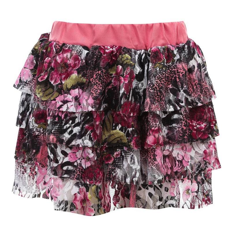 ЮбкаЮбка малинового цвета из коллекции Cool Girl марки Sweet Berry.<br>Пышная многослойная юбка на хлопковой подкладке украшена оригинальным цветочным принтом. Пояс розового цвета дополнен удобной эластичной резинкой.<br><br>Размер: 5 лет<br>Цвет: Малиновый<br>Рост: 110<br>Пол: Для девочки<br>Артикул: 687868<br>Страна производитель: Китай<br>Сезон: Весна/Лето<br>Состав: 100% Полиэстер<br>Состав подкладки: 65% Хлопок, 35% Акрил<br>Бренд: Италия