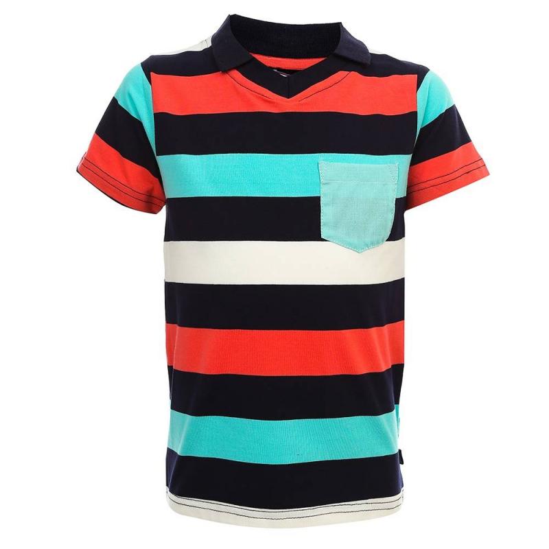 Рубашка-полоРубашка-полочерногоцвета из коллекции Lobster Bay марки Sweet Berry для мальчиков.<br>Рубашка-поло с коротким рукавом, выполненная их хлопка с добавлением эластана, декорирована принтом с контрастными полосками. Модель дополнена небольшим нагрудным карманом.<br><br>Размер: 6 лет<br>Цвет: Черный<br>Рост: 116<br>Пол: Для мальчика<br>Артикул: 687806<br>Страна производитель: Китай<br>Сезон: Весна/Лето<br>Состав: 95% Хлопок, 5% Эластан<br>Бренд: Италия