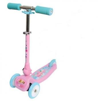 Спорт и отдых, Самокат Красотка 1Toy (розовый)682303, фото
