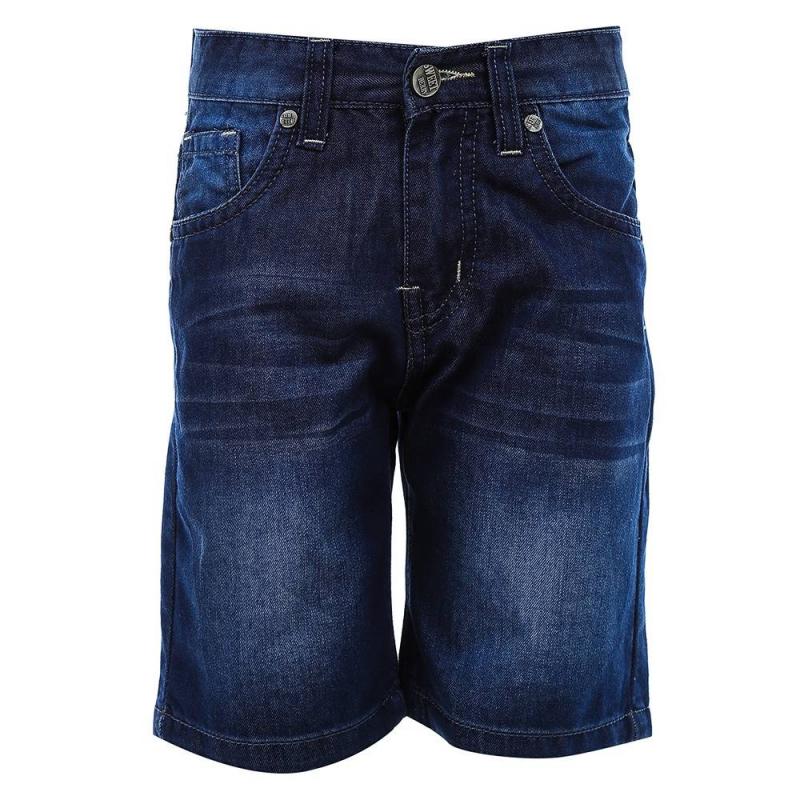 ШортыШорты синегоцвета из коллекции Thunder Steelers марки Sweet Berry для мальчиков.<br>Стильные джинсовые шорты выполнены из натурального хлопка. Модель украшена декоративными потертостям, а также дополнена передними и задними карманами. Пояс на резинке регулируется специальными пуговицами на внутренней стороне.<br><br>Размер: 4 года<br>Цвет: Синий<br>Рост: 104<br>Пол: Для мальчика<br>Артикул: 687909<br>Страна производитель: Китай<br>Сезон: Весна/Лето<br>Состав: 100% Хлопок<br>Бренд: Италия
