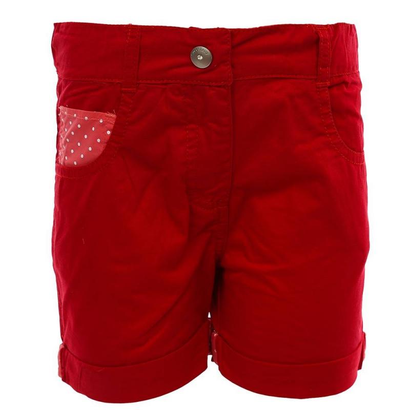 ШортыШорты красного цвета из коллекции Time Flowers марки Sweet Berry для девочек.<br>Стильные яркие шорты выполнены из натурального хлопка. Модель украшена принтом в горошек белого цветаивыгодно подчеркнута отворотами. Шорты дополнены передними и задними карманами, а также застегиваются на удобную молнию.<br><br>Размер: 5 лет<br>Цвет: Красный<br>Рост: 110<br>Пол: Для девочки<br>Артикул: 688537<br>Бренд: Италия<br>Страна производитель: Китай<br>Сезон: Весна/Лето<br>Состав: 100% Хлопок