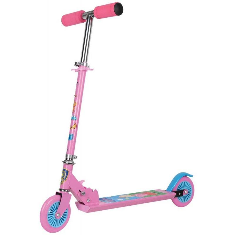 Navigator Самокат Peppa велосипед двухколесный navigator peppa pig 14 розовый