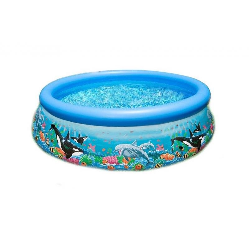 Intex Бассейн надувной Easy Set Pool Риф океана