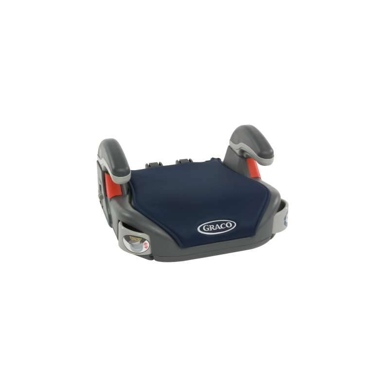 БустерБустер тёмно-синего цвета марки Graco.<br>Бустер оснащен регулируемыми по высоте подлокотниками, выдвигающимися подстаканниками, а также простыми в использовании направляющими для ремней безопасности автомобиля с пластиковыми деталями красного цвета. Съемный чехол бустера с мягкой набивкой пригоден для машинной стирки.<br>Размер: 41х42х21 см.Вес товара: 2,7 кг.<br>Предназначен для детей от 3 до 12 лет.<br><br>Цвет: Темносиний<br>Возраст от: 3 года<br>Пол: Не указан<br>Артикул: 682365<br>Бренд: США<br>Страна производитель: Китай<br>Размер: от 3 лет<br>Способ установки: По ходу движения<br>Способ крепления: Ремень безопасности