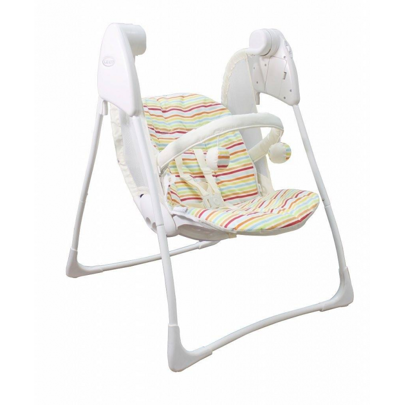 Graco Электрокачели Baby Delight Candy Stripe