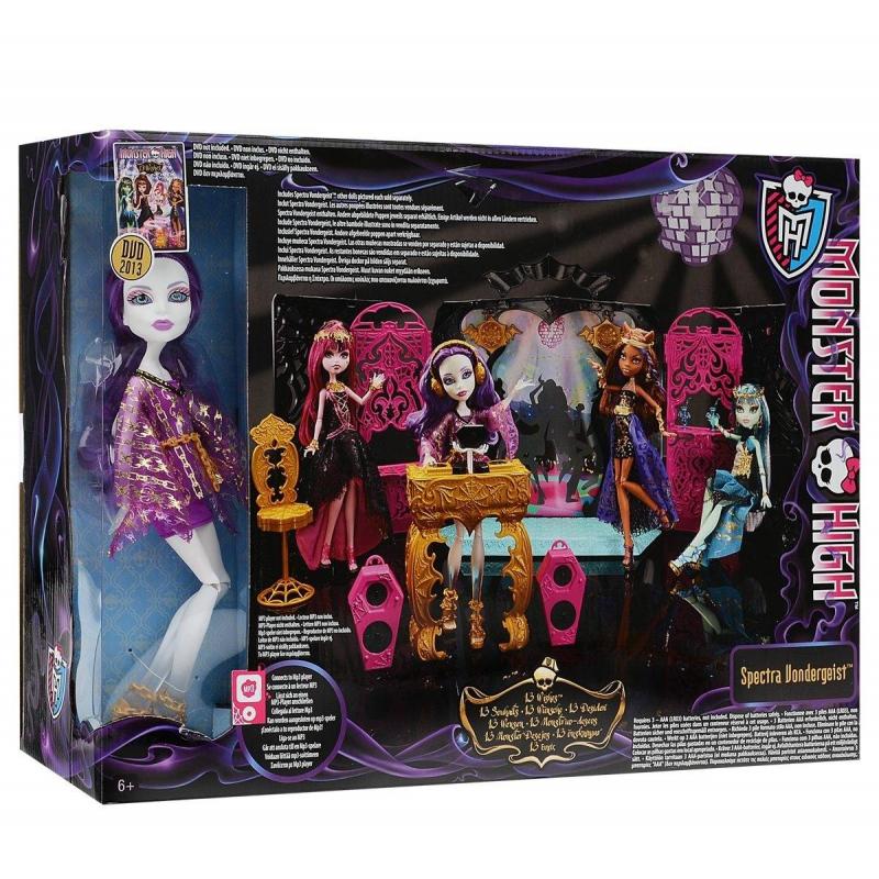 Игровой набор Монстростическая вечеринка Monster High