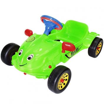 Спорт и отдых, Машина педальная Herby RT (зеленый)650794, фото