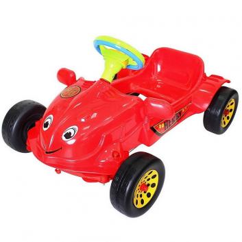 Спорт и отдых, Машина педальная Herby RT (красный)650795, фото