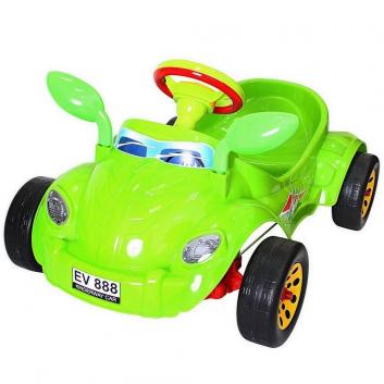 Спорт и отдых, Машина педальная Молния RT (зеленый)650796, фото