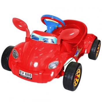 Спорт и отдых, Машина педальная Молния RT (красный)650797, фото