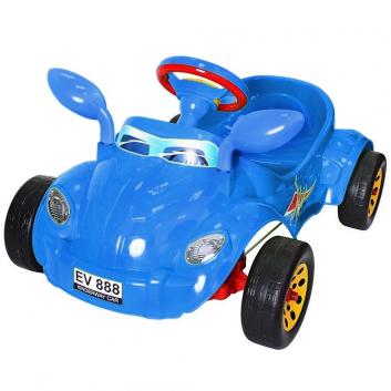 Спорт и отдых, Машина педальная Молния RT (синий), фото