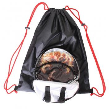 Спорт и отдых, Мешок-рюкзак складной Призрачный гонщик RT (черный)650799, фото