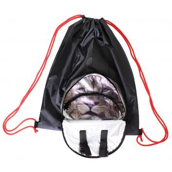 Спорт и отдых, Мешок-рюкзак складной Лев RT (черный)650801, фото