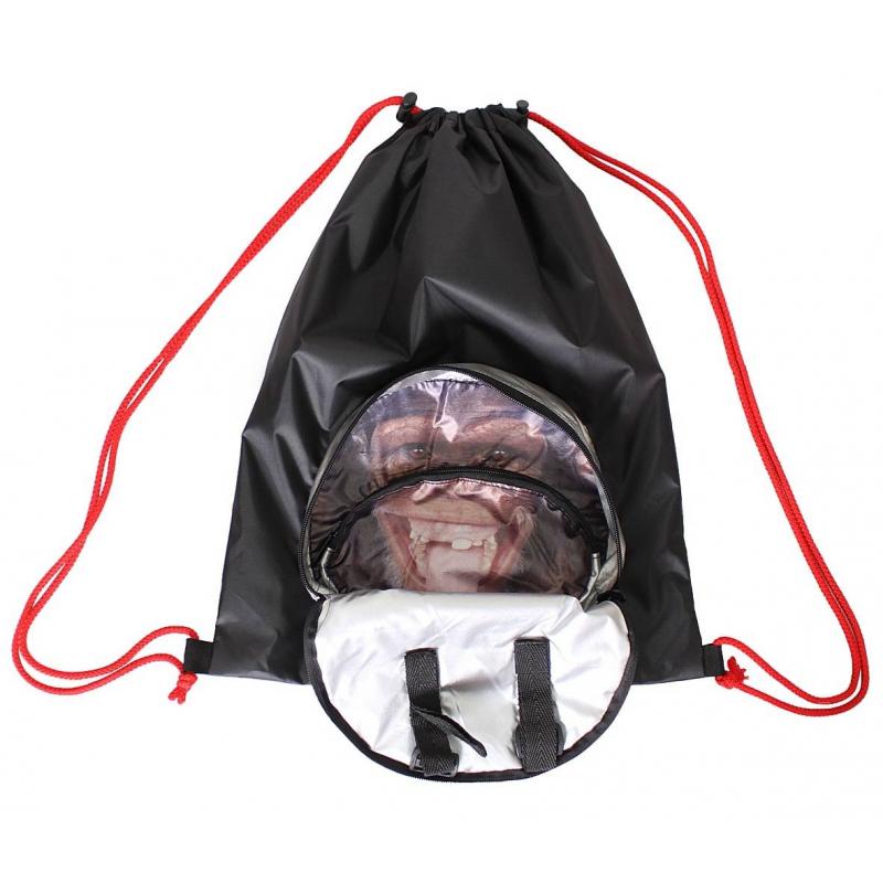 Мешок-рюкзак складной Обезьяна