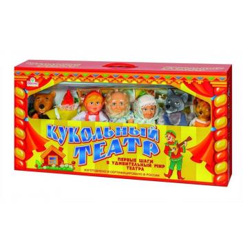 Игрушки, Кукольный театр 7 персонажей набор №1 Весна 658774, фото