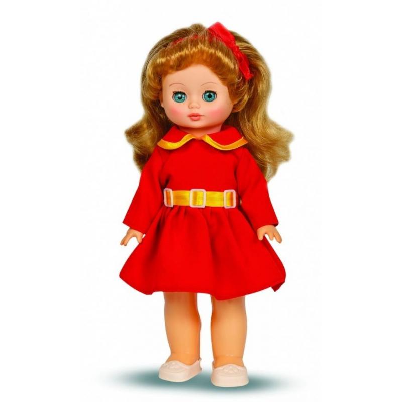 Кукла Жанна 7 озвученнаяКуклаЖанна 7(озвученная) серии Моя любимая кукла марки Весна.<br>Красивая и очаровательная кукла со звуковым модулем и закрывающимися глазами понравится любой девочке. Модельодетав красивое платье и туфли, а на голове есть нежный ободок из атласной ленты. Элементы одежды легко снимаются и одеваются. Стоит нажать на куклу, как она сразу произносит разнообразные фразы. С такой игрушкойсюжетно-ролевые игры станут еще более интересными.<br>Механизм движения: нет.<br>Материал: винил, пластмасса.<br>Фразы: Теперь ты моя подруга, Ты не забыла - сегодня мы идем на праздник,Нам нужно быть красивыми,Сделай мне прическу,Получилось очень красиво!,Теперь себе,А другую песенку, Не забудь про маникюр, А нарядное платье?, Мы сегодня самые красивые!.<br>Высота: 34 см.<br>Вес: 0,67 кг.<br>Рекомендовано для детей от 3 лет.<br><br>Возраст от: 3 года<br>Пол: Для девочки<br>Артикул: 658726<br>Страна производитель: Россия<br>Бренд: Россия<br>Размер: от 3 лет