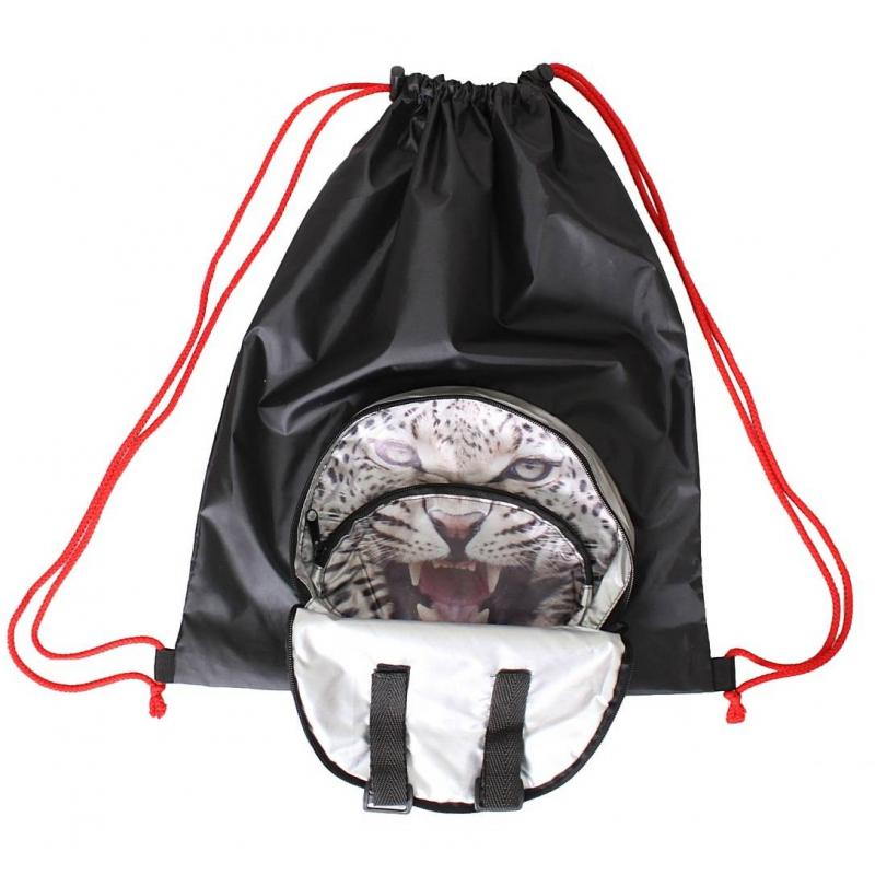 Мешок-рюкзак складной Снежный Барс