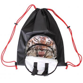 Спорт и отдых, Мешок-рюкзак складной Тигр RT (черный)650805, фото