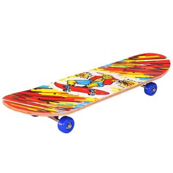 Скейтборд Пришельцы Красная Молния 28