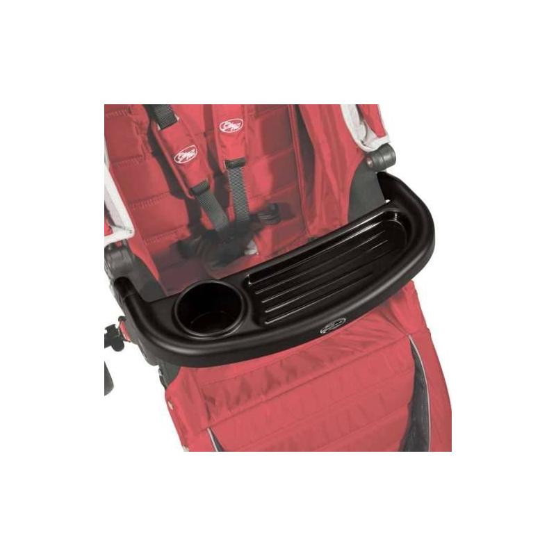 Столик для коляски Child Tray Single универсальныйСтолик для коляски Child Tray Single универсальныйчёрногоцвета марки Baby Jogger.<br>Универсальная модель для одноместной коляскивыполнена из прочного материала и легко моется. На столике имеется углубление для бутылочки.<br>Размер: 8х49х25 см.<br><br>Цвет: Черный<br>Пол: Не указан<br>Артикул: 682407<br>Бренд: США<br>Страна производитель: Китай<br>Размер: Без размера