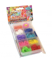 Набор цветных резинок для плетения фенечек 270 шт