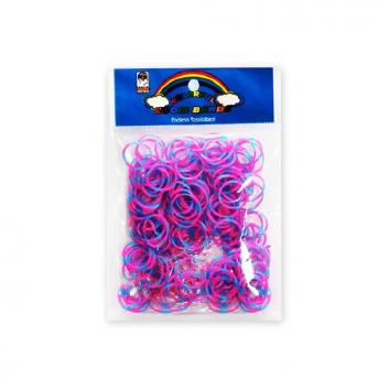 Набор резинок для плетения фенечек Стандарт 600 шт