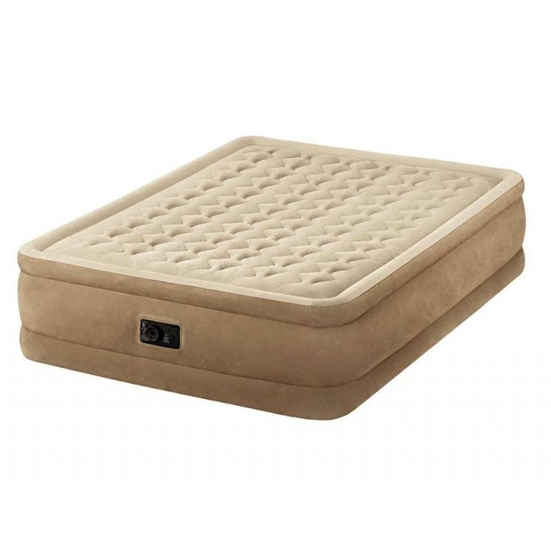 Intex Надувной матрас Ultra Plush Bed кровать intex comfort plush со встроенным насосом 220в intex 67766