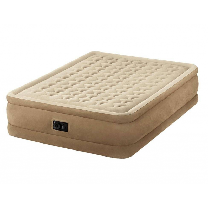 Intex Надувной матрас Ultra Plush Bed надувной матрас кровать intex comfort plush high 152х203х56 см 64418