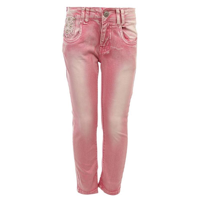 ДжинсыДжинсы розового цвета из коллекции Best Island марки Sweet Berry для девочек.<br>Стильные хлопковые джинсы украшены декоративными потертостями и стразами. Модель дополнена передними и задними карманами, а также застегивается на удобную молнию. Пояс на резинке регулируется специальными пуговицами на внутренней стороне.<br><br>Размер: 6 лет<br>Цвет: Розовый<br>Рост: 116<br>Пол: Для девочки<br>Артикул: 688445<br>Бренд: Италия<br>Страна производитель: Китай<br>Сезон: Весна/Лето<br>Состав: 98% Хлопок, 2% Эластан