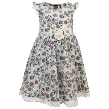Девочки, Платье LP Collection (голубой)702450, фото