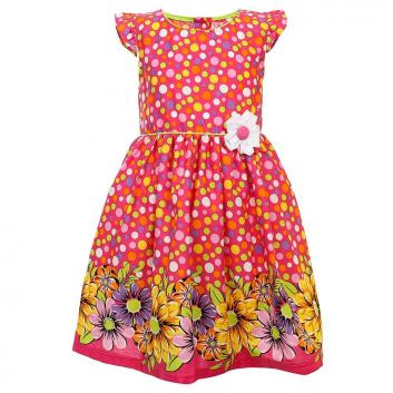 Девочки, Платье LP Collection (малиновый)702375, фото