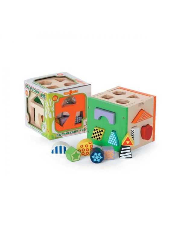 Развивающая игрушка Логический куб Папа Карло